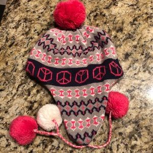 ⛄️Capelli kid's winter hat with ear flaps/pom ties